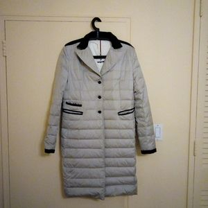 Women's new Italian long jacket without tag.